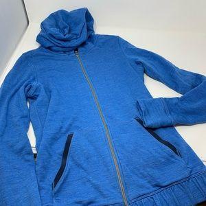 Lululemon Hoodie Jacket Size 4 Blue